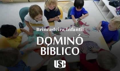 Brincadeira do Dominó Bíblico