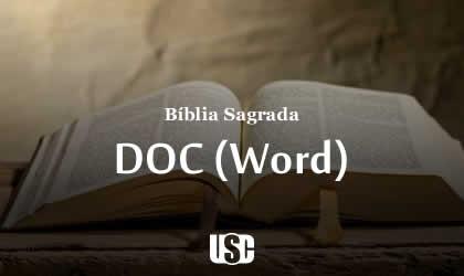 Bíblia Sagrada em DOC (Word) versão Revista e Corrigida