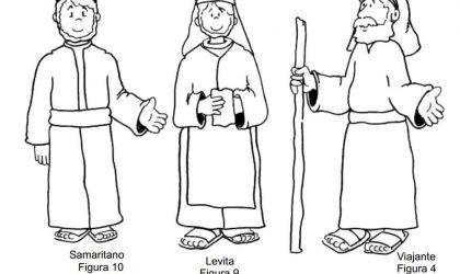 Lição infantil Parábola do bom Samaritano