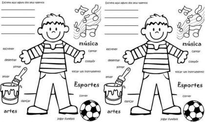 Lição infantil Parábola dos talentos