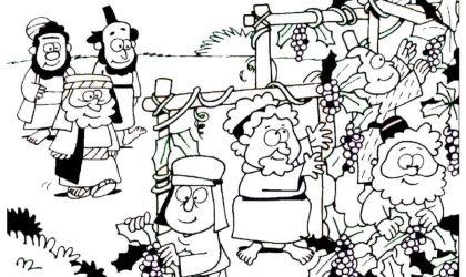 Lição infantil Parábola dos trabalhadores da vinha