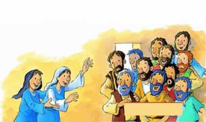 Lição infantil A Primeira Páscoa